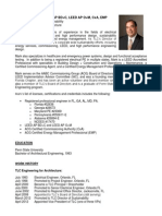 Sustainability Resume - Gelfo