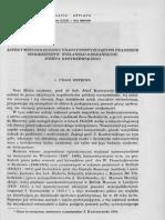 Jan Zak Aspekt Metodologiczny Prac Syntezujacych Pradziej SPOŁECZEŃSTW WIŚLAŃSKO-ODRZANSKICH Józefa Kostrzewskiego