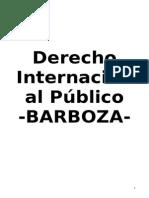 BARBOZA- Resumen Derecho Internacional Público
