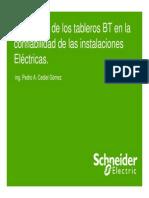 Confiabilidad Del Impacto Tableros BT Sistemas Electricos