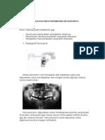 Radiologi Pada Perawatan Orthodontic