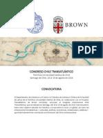 Convocatoria Congreso Chile Transatlántico