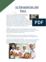 Mejores Panaderías Del Perú