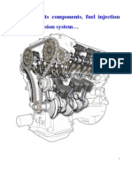 IC Engine, its components, fuel injection and transmission system