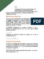 Métodos de Integración_Resumen