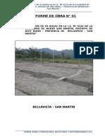 Informe Técnico N° 001