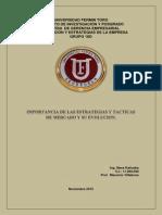 Importancia de Las Estrategias y Tácticas de Mercado y Su Evolución.