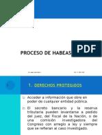 4 . Garantías Constitucionales - Habeas Data