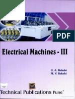 Electrical Machines III