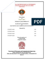 Vtu project report first 3 pages academic degree engineering project report 2015 format yadclub Gallery