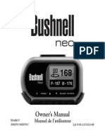 Bushnell Neo Owner Manual