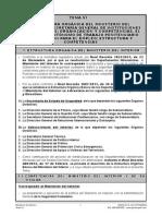 Tema 6 Organización del Estado Actualizado 2015
