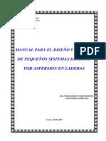 Manual de Riego en Ladera