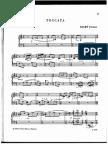 Ferenc Szabo - Toccata for Piano