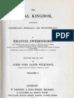 Em Swedenborg the Animal Kingdom Two Volumes First and Last Pages 1744 1745 James John Garth Wilkinson 1843 1844 the Swedenborg Scientific Association 1960