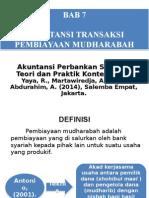 Bab 7 - Akuntansi Transaksi Pembiayaan Mudharabah