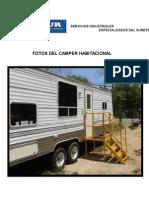 Presentacion Camper para 6 Personas