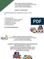 Diagnóstico Del Personal y Organización