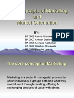 The Core Concept of Marketing