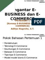 Pert1 Pengantar e Business Dan e Commerce
