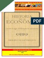 Libro No. 433. Historia de La Economía. Desde El Siglo XVII Hasta La Actualidad. Sieveking%2C Heinrich. Colección Emancipación Obrera. Junio 15 de 2013.