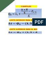Medidas de Posición Datos Agrupados