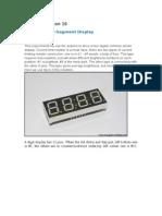 Arduino Lesson 16-LED 4 Digit. 8-Segment Displays