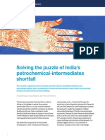 India's Petrochemical Intermediates Shortfall - November 2015