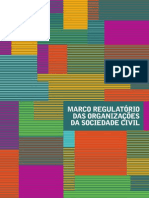 Novo Marco Regulatório Das Organizações Da Sociedade Civil