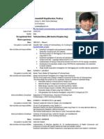 Curriculum Vitae 20140923