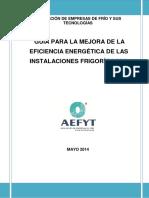 Aefyt Guia Para La Mejora de La Eficiencia Energetica de Las Inst Frig Mayo 2014