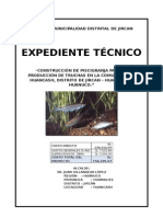 Expediente Técnico Piscigranja