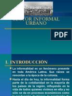 IX. Sector Informal y Unbano en El Peru
