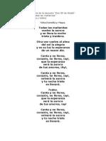 """Todas Las Mañanitas para coral egún el libreto de la zarzuela """"Don Gil de Alcalá"""""""