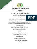 Tesis Desnutricion Infantil ( Charapoto) Universidad Tecnica de Manabi