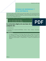 Estructuras de Memorias y Procesos de La Instancia