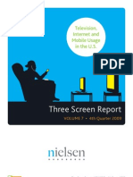 Nielsen Television, Internet & Mobile Usage in the U.S. (4Q 09)