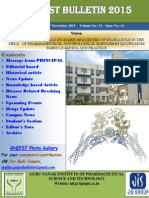GNIPST Bulletin 51.1