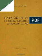 Catalani Şi Vlahi În Europa Sud-Orientală a Secolului Al XIV-lea
