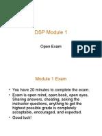DSP Module 1