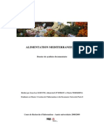 Dossier Alimentation Mediterraneenne PDF
