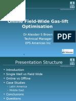 Online Field-Wide Gas-lift Optimisation (Final)