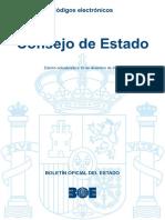 BOE-025 Consejo de Estado