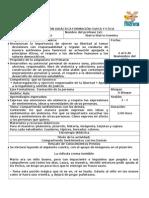 Narrativa y Analisis 1 Formación Cívica y Ética 3 Grado