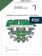 Practica 2 Ctos. de CA y CD MALACARA ESIME