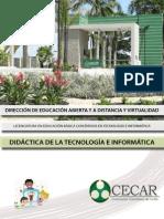Didactica de La Tecnologia e Informatica