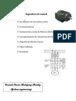 Principios Sobre Dispositivos de Control Para Procesos Industriales