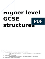 higher level  structures