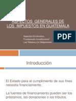 Derecho Economicoimpuestos en Guate