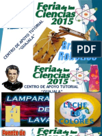 Pancarta Feria de Las Ciencias